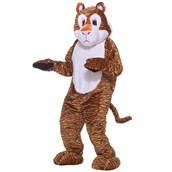 Tiger Deluxe Mascot Adult Costume