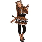 Tigress Hoodie Child Costume