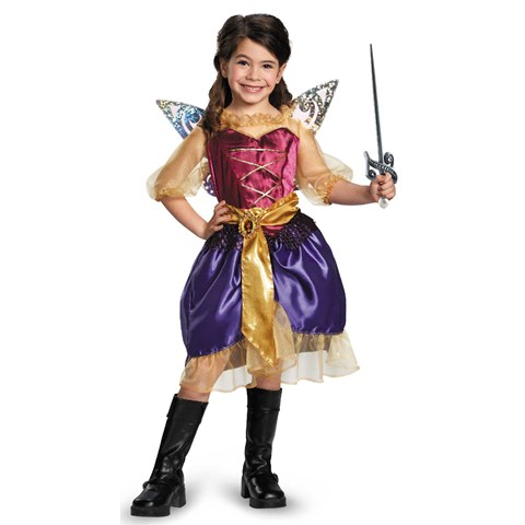 Tinker Bell and The Pirate Fairy - Pirate Zarina Kids Costume