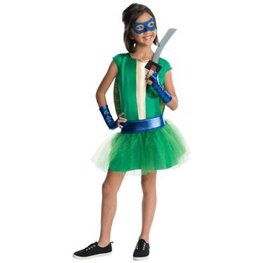 TMNT - Deluxe Leonardo Girl Tutu Kids Costume