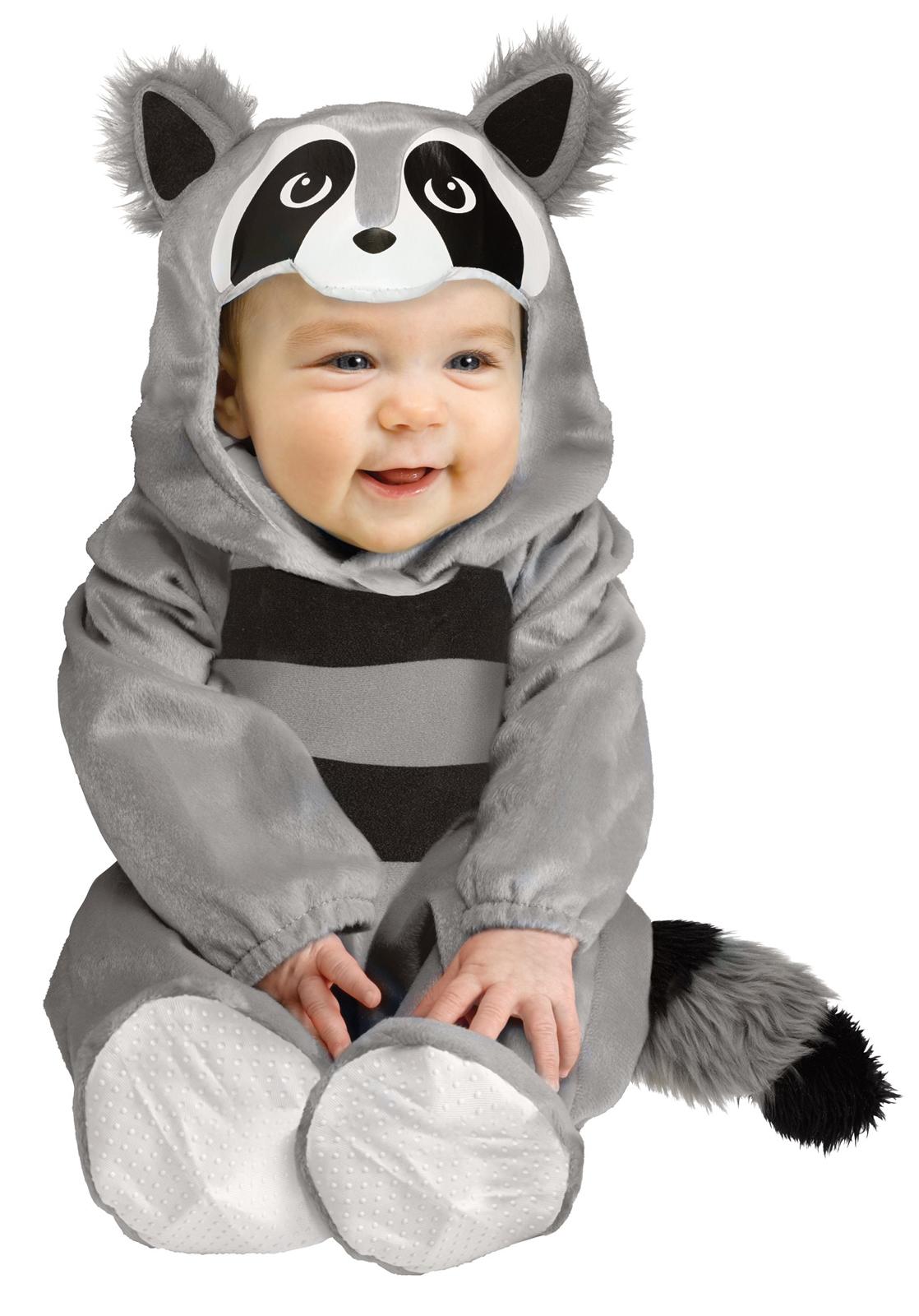 costume Toddler baby raccoon