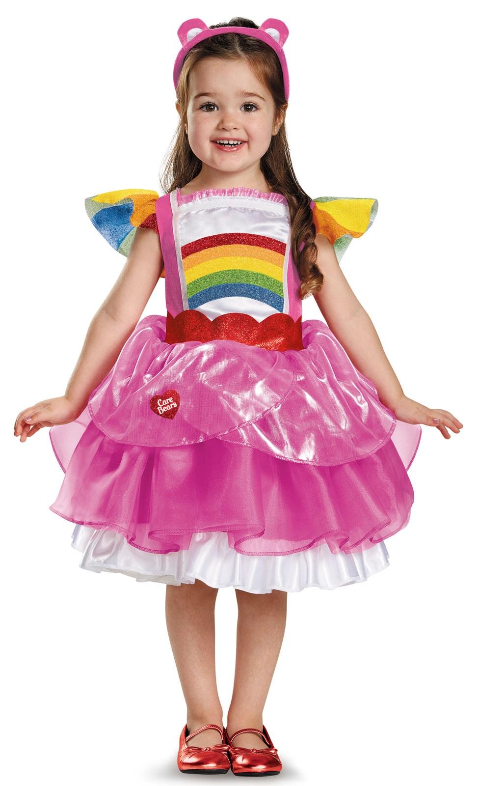 Toddler Cheer Bear Deluxe Tutu Costume