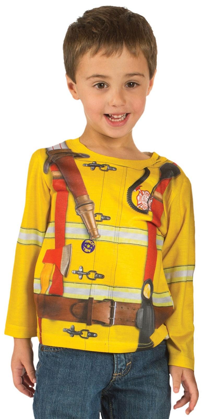 Toddler Fireman T-Shirt