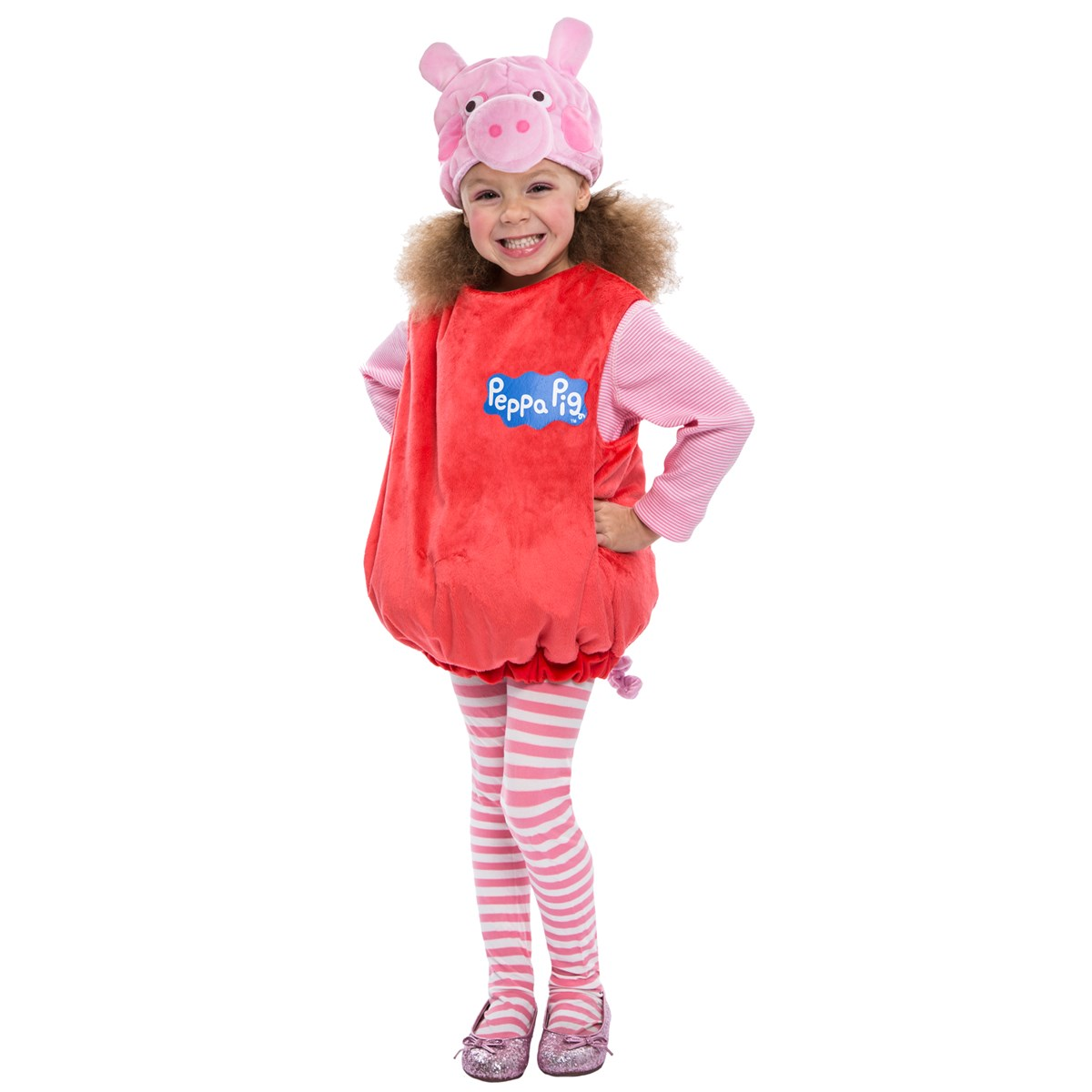 toddler peppa pig deluxe costume buycostumes