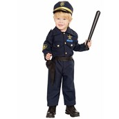 Toddler Police Boy Costume