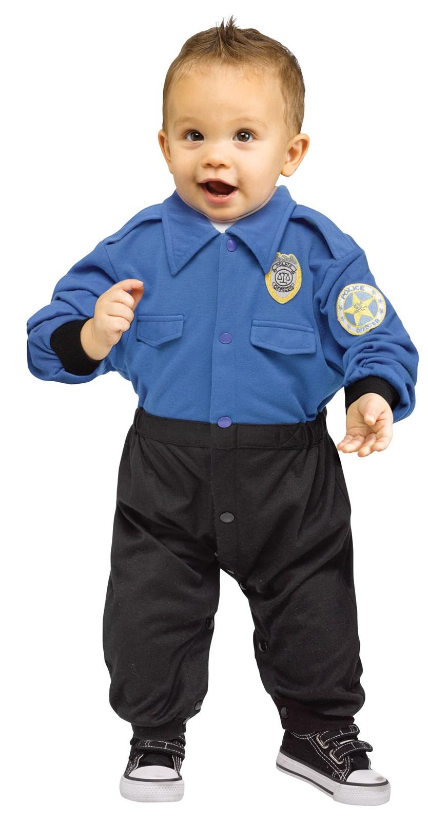 Toddler Policeman Costume | BuyCostumes.com
