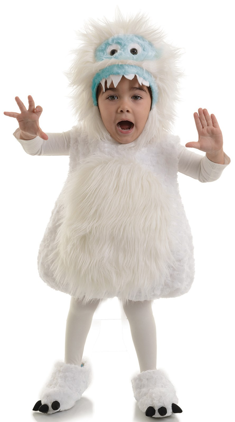 Toddler Snow Monster Costume