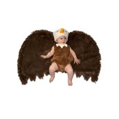 Toddler Swaddle Wings Bald Eagle Costume