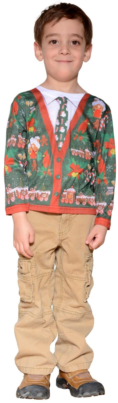 Toddler Ugly Christmas Cardigan
