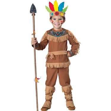 Toddlers Indian Boy Costume