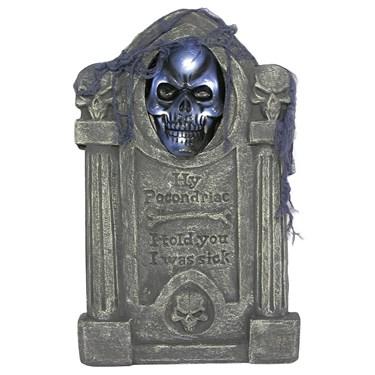 Tombstone Skull Prop