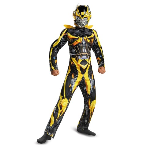 Transformers 4 Age of Extinction Bumblebee Muscle Child Costume