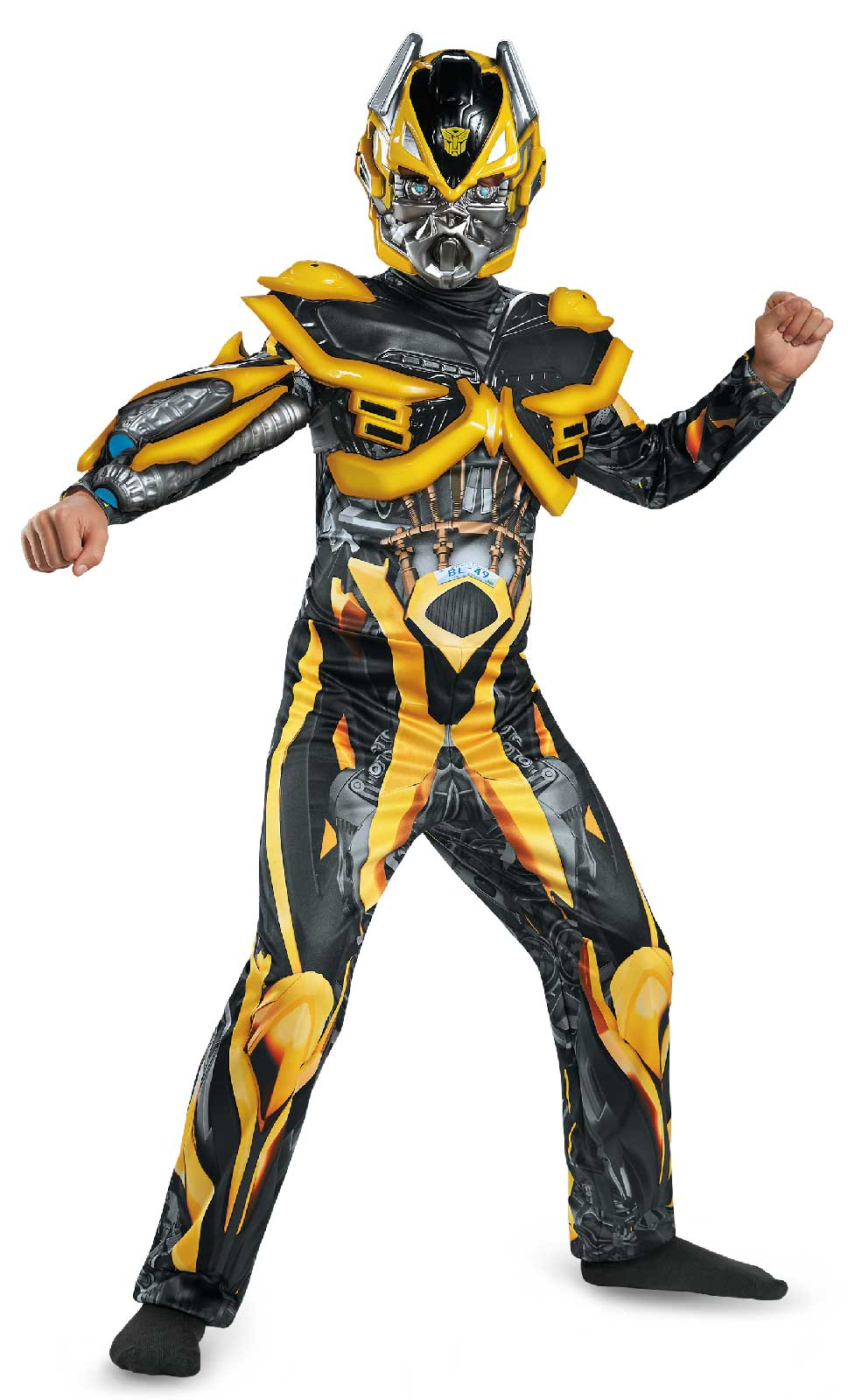 Transformers Age of Extinction - Deluxe Bumblebee Kids Costume ...