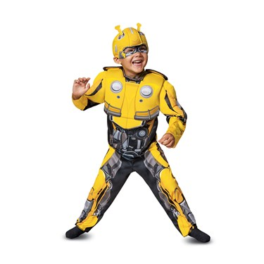 Transformers Bumblebee Movie  Bumblebee Infant Muscle Costume