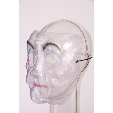 Transparent Mask - Old Lady
