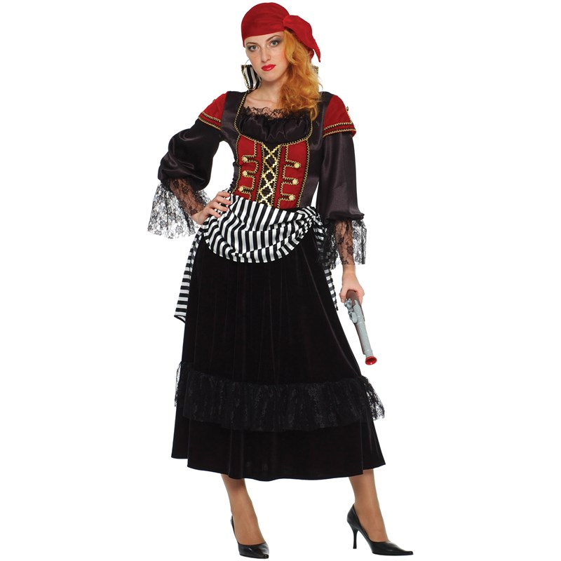 Palamon Adult Treasure Pirate Wench Adult Costume- Red:
