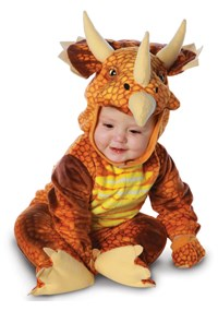 Click Here to buy Triceratops Baby & Toddler Costume from BuyCostumes
