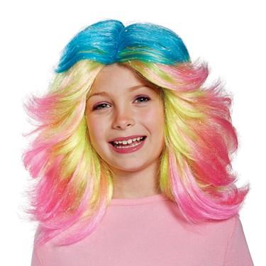 Trolls- Lady Glitter Sparkles Child Wig