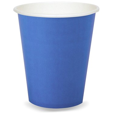 True Blue (Blue) 9 oz. Paper Cups (24 count)