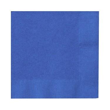 True Blue (Blue) Beverage Napkins (50 count)