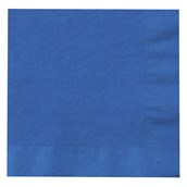 True Blue (Blue) Lunch Napkins (50 count)