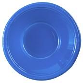 True Blue (Blue) Plastic Bowls (20 count)