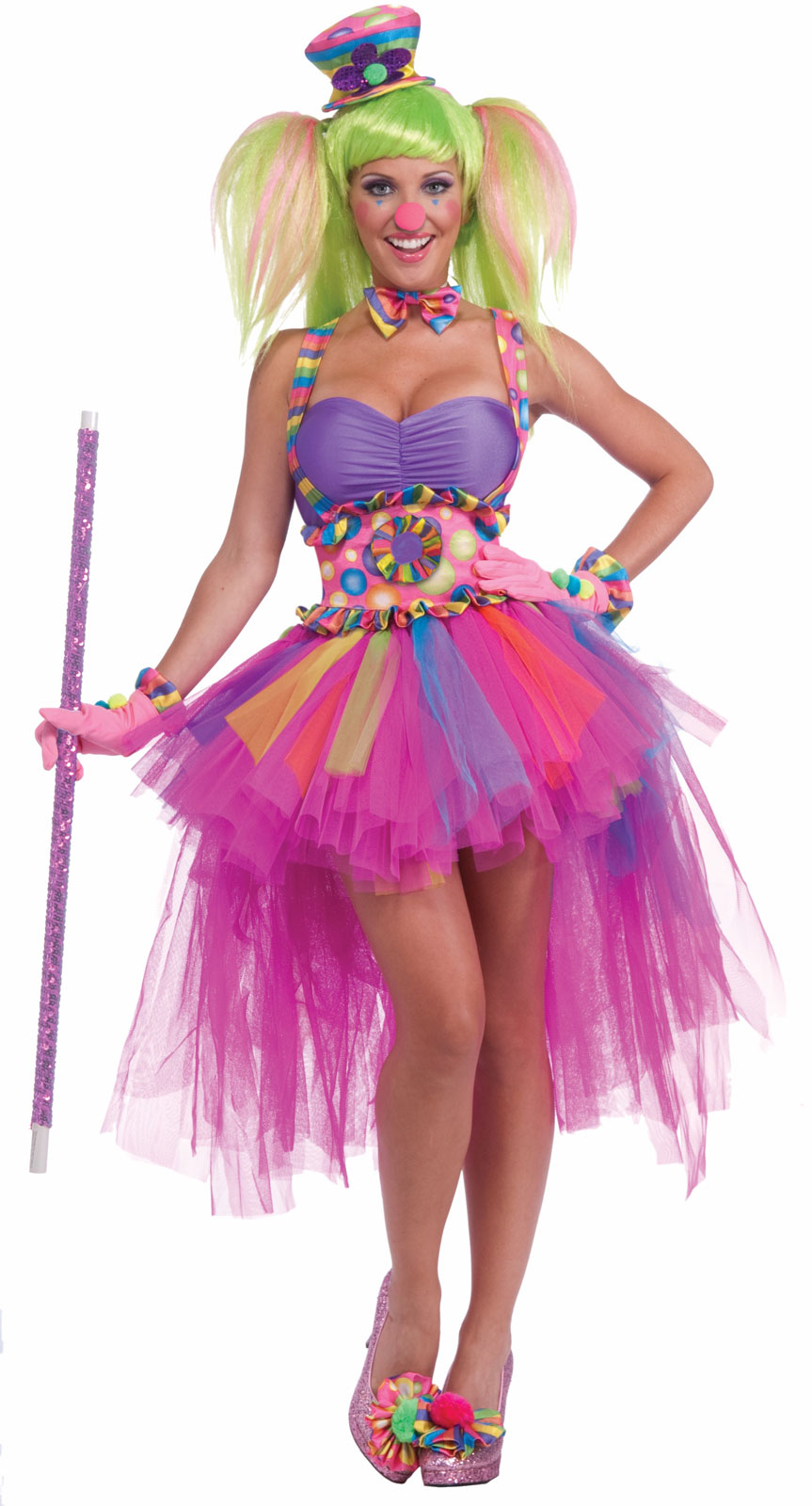 Tutu Lulu The Clown Adult Costume | BuyCostumes.com
