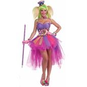 Tutu Lulu The Clown Adult Costume