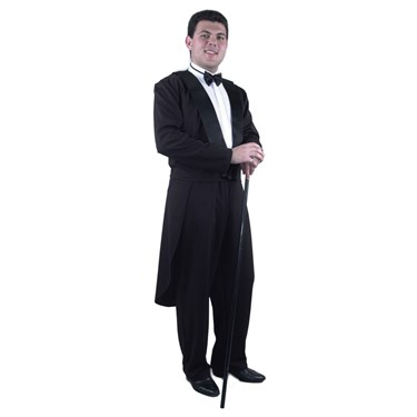 Tuxedo Adult Jacket With Tail