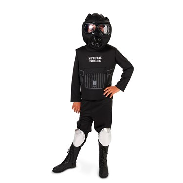 U.S. Army Special Forces Child Costume with FREE BONUS
