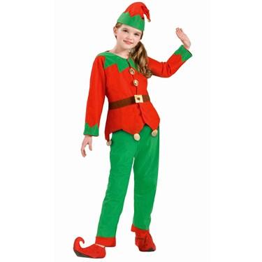 Unisex Child Elf Costume