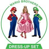 Unisex Super Mario Brothers Dress-up Set