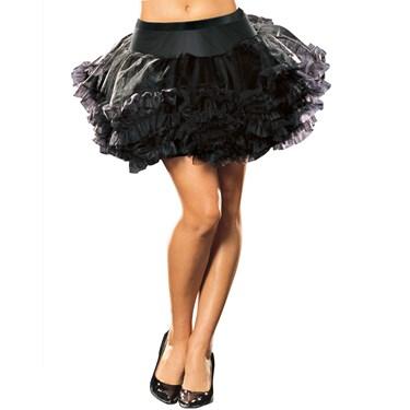 Ursula Petticoat (Black) Adult