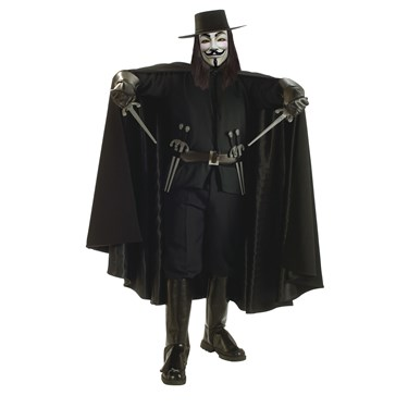 V For Vendetta Grand Heritage Adult Costume