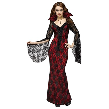 Vampiress Costume For Adults