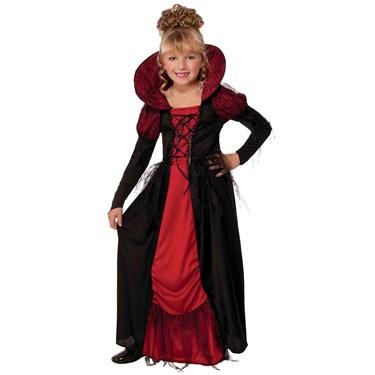 Vampiress Queen Child Costume