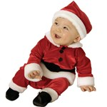 Velvet Santa Infant / Toddler Costume