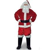 Velvet Santa Suit