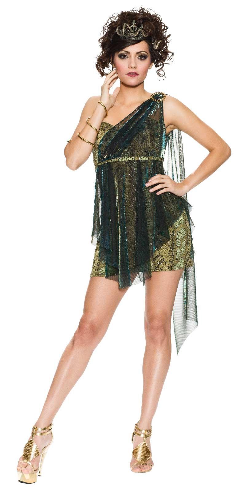 Venomous Vixen Medusa Adult Costume Buycostumes Com