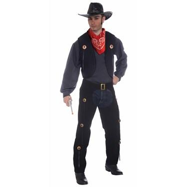 Vest and Chaps Set Costume - Adult Standard