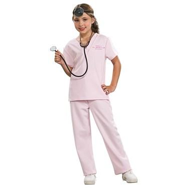 Veterinarian Pink Child Costume