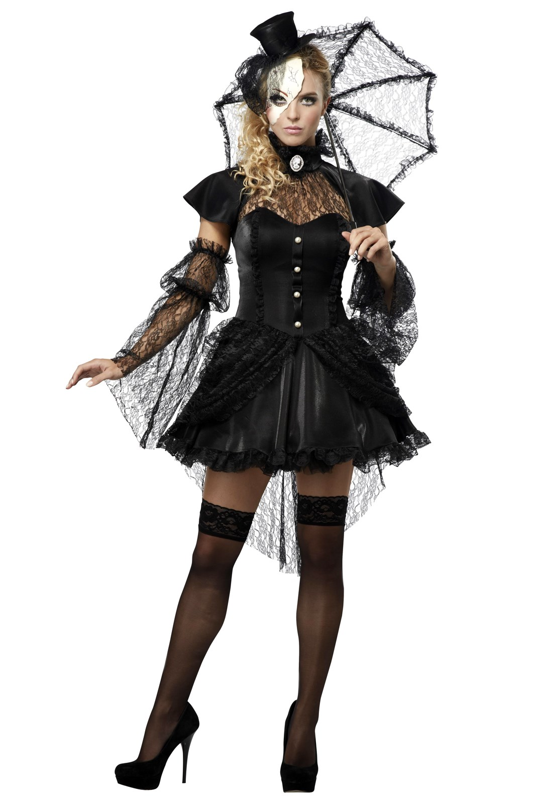 Victorian Doll Adult Costume | BuyCostumes.com