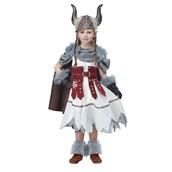 Viking Girl Child Costume