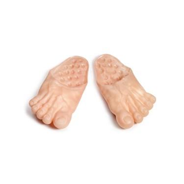Vinyl Funny Feet Slipper Adult Male
