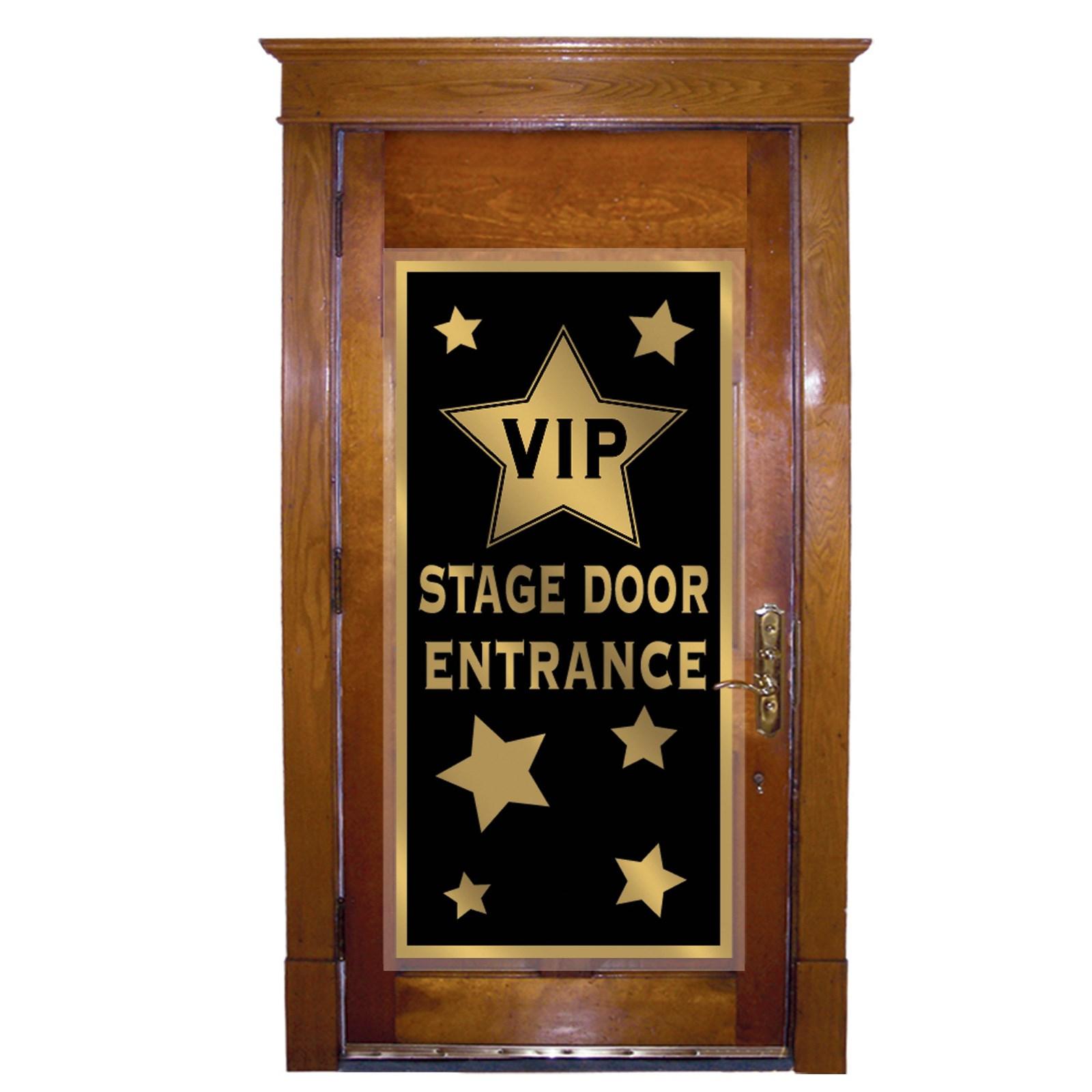 Vip stage door entrance door cover for Miroir loge de star