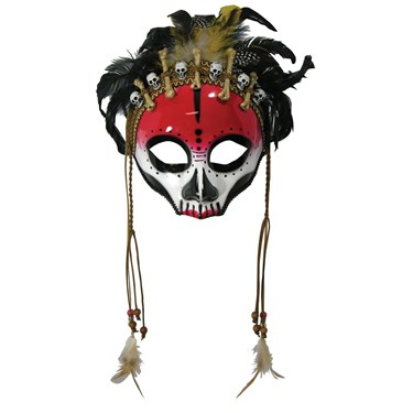 Voodoo Face Mask - Adult