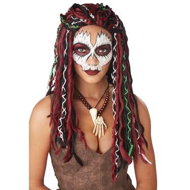 Voodoo Priestess Adult Wig