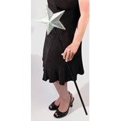 Jumbo Glitter Star Staff