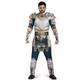 Warcraft King Llane Classic Muscle Teen Costume