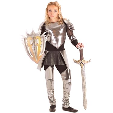 Warrior Snow Child Costume